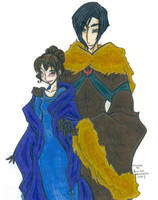 Victor and Hermione coloured by rindaimaiou