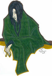 Snape Smoking Coloured by rindaimaiou