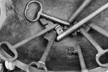 Film - XCVI - old key by Picture-Bandit
