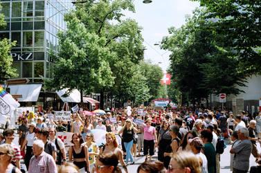Zurich Pride March III by Picture-Bandit