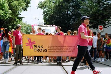 Zurich Pride Pink Cross III by Picture-Bandit