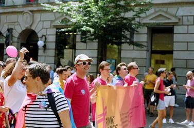 Zurich Pride Pink Cross V by Picture-Bandit