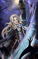 Comish - Alucard by oneoftwo