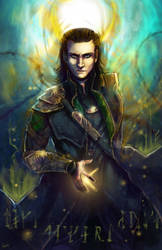 Fanart - Loki by oneoftwo