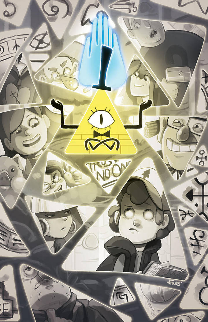 Trust No One - Gravity Falls by oneoftwo
