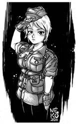 officer mekolai by mekolai