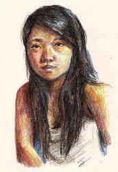 Self portrait by Jiejiep