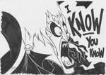 Inktober17-12: Hades by lazytigerart