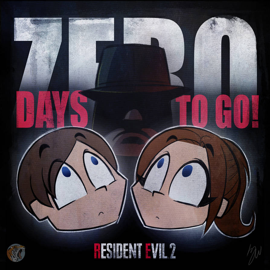 RE2 Countdown ZERO by lazytigerart