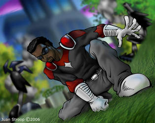 City of Heroes: The Iron Fang by GoodKidGraphics