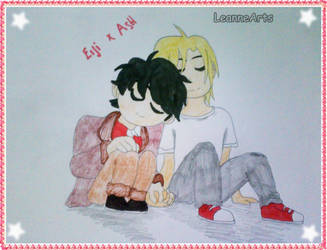 Banana Fish - Eiji and Ash by LeanneArts