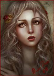 Persephone by OmarDiazArt