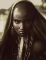 Ethiopian beauty by OmarDiazArt