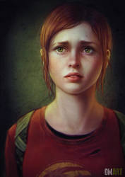 Ellie The Last Of Us Fan-Art by OmarDiazArt