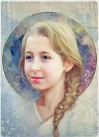 Portrait comission May by OmarDiazArt