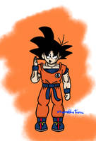 Goku by XtremeBlueTronic