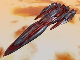 Leviathan Class Battleship by DevilDalek
