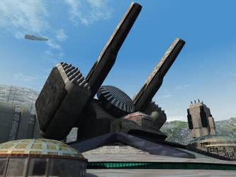 Romulus Defence Battery by DevilDalek