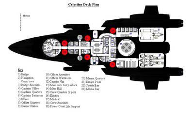 Mass Diver Deckplans by DevilDalek