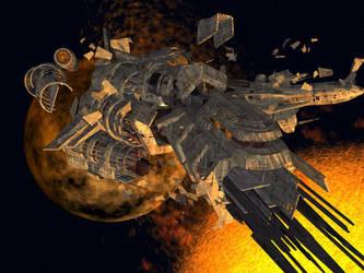 Space Wreck by DevilDalek