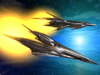 Brabazons in Flight by DevilDalek