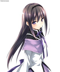 Another Homura Render by Zyresic