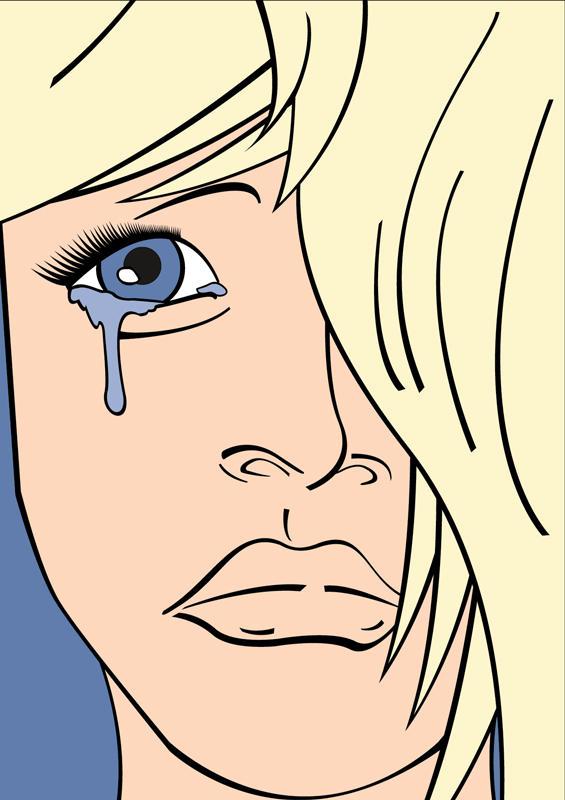 Sad Girl by rudeboyskunk