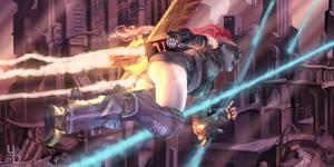 Flying Dutchgirl by YoDCreaction