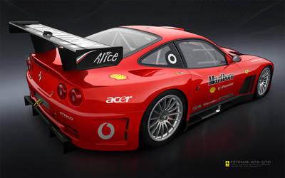 Ferrari 575 GTC Toon by p3nx