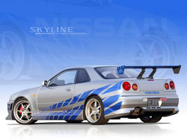 2f2f Skyline Vector Wallpaper by p3nx