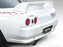 R32 Skyline Vector Details by p3nx