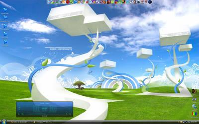 Desktop June 07 by p3nx