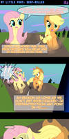 MLP: DERP-Rolled -COMIC- by LadyAniDraws