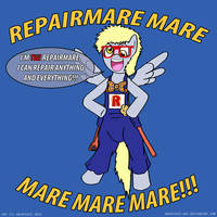 MLP: REPAIRMARE MARE MARE MARE MARE!!! by LadyAniDraws