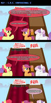 MLP: CMC Confessional 2 by LadyAniDraws
