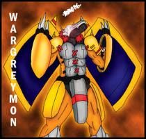 DIGIMON S1: Wargreymon by LadyAniDraws