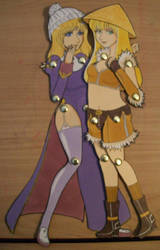 - Amber and Evey Paper Dolls - by mooncats5