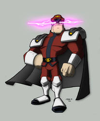 Colours: M Bison by wrightauk