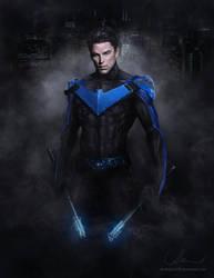 Bludhaven's Nightwing by denkata5698