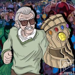 Stan Lee by zerucheese