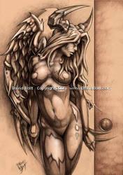 Devil Angel by DavidBollt