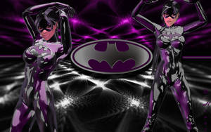 Batgrrl Lara: Rubberized Skinsuit by Darc4ssass1nCMD