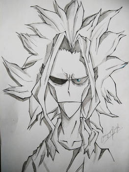 All Might by MayurSingh007