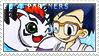 BP_Joe and Gomamon Stamp by Stamp221