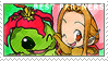 BP_Mimi and Palmon Stamp by Stamp221