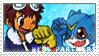 BP_Davis and Veemon Stamp by Stamp221