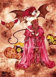 Le diable s'habille en steampunk by Melie-Rose