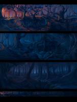 Erlking #5, panorama by Iselinka