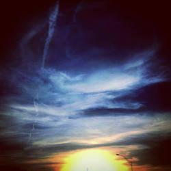 Santa Fe Sunset by xXkikyoXx