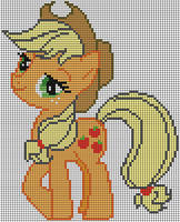 Applejack Pattern by Jackiekie
